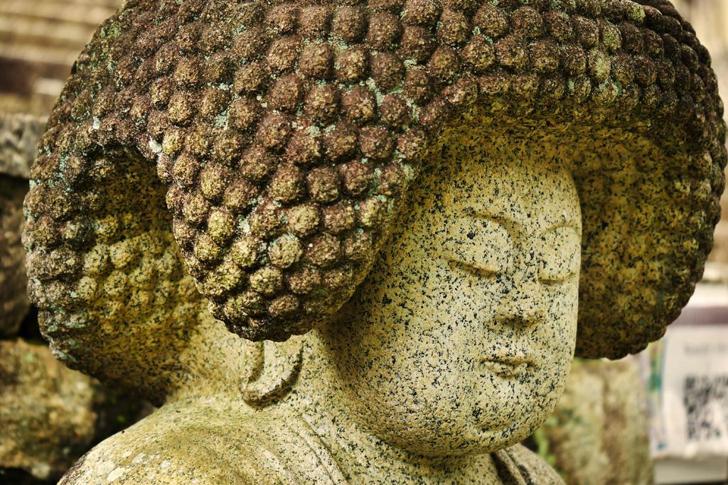 金戒光明寺 アフロ仏像の写真素材