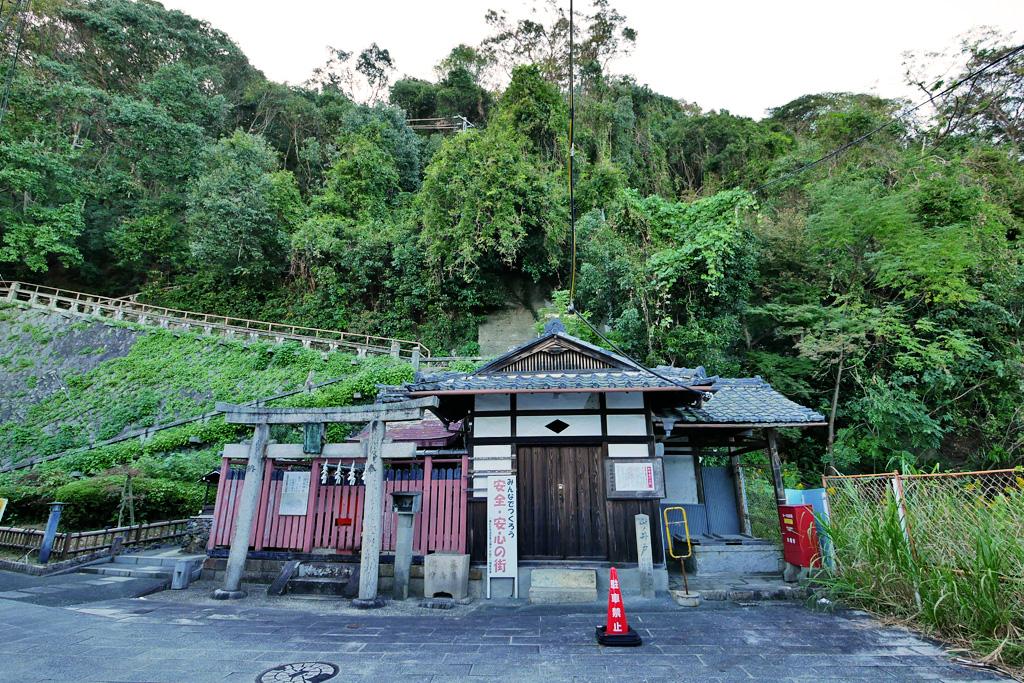 相槌神社(八幡市)の写真素材