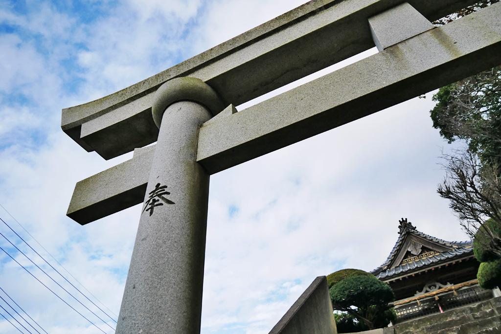 赤崎神社の写真素材