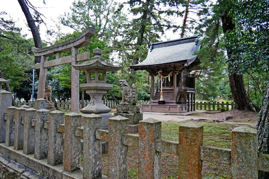 天橋立神社の写真素材