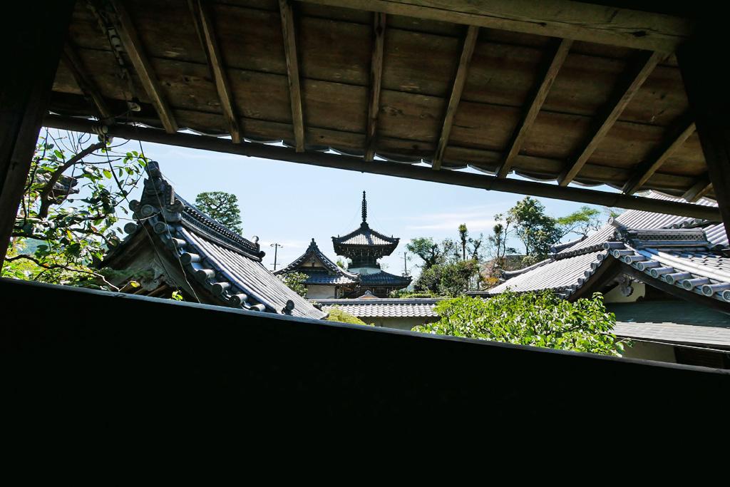 穴太寺の写真素材