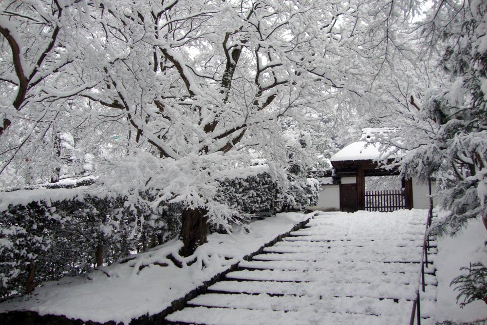 雪の安楽寺