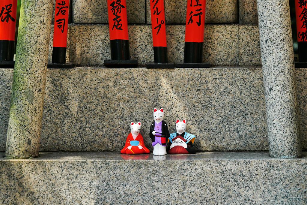 荒木神社の写真素材
