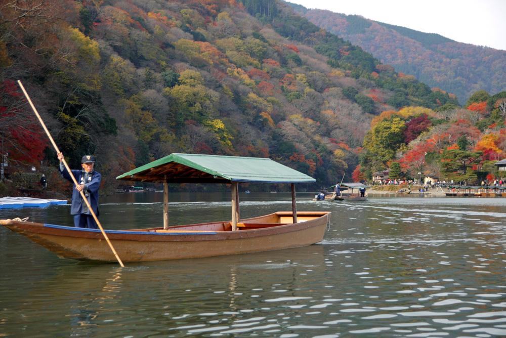 嵐山渡月橋・紅葉
