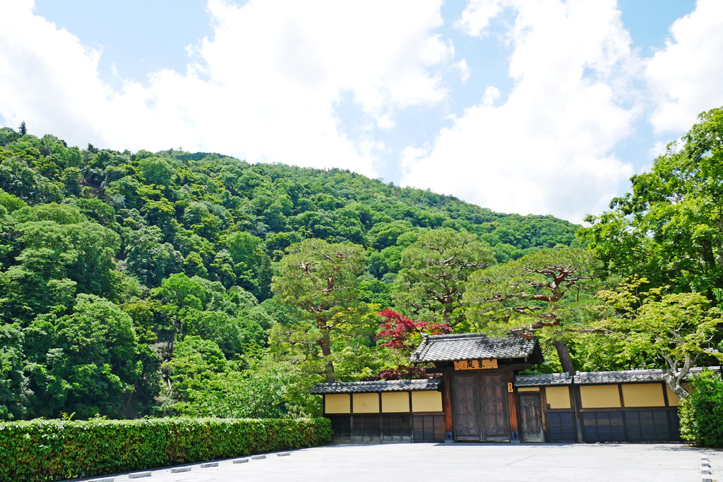 嵐山 嵐亭(翠嵐 ラグジュアリーホテル京都)の写真素材