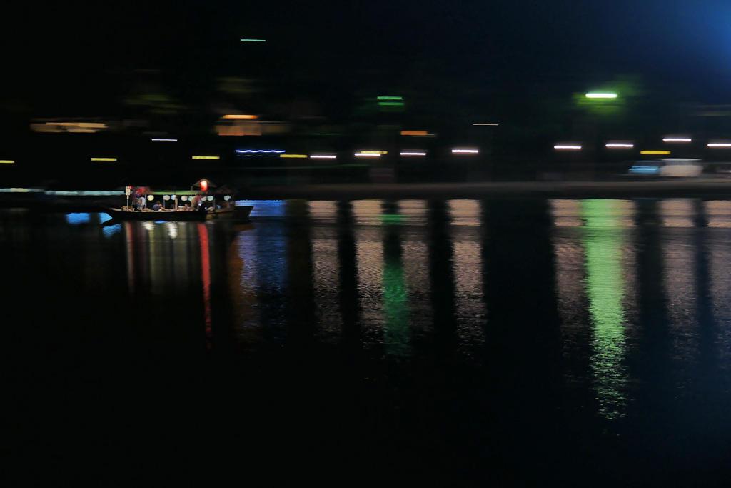 京都 嵐山 鵜飼の写真素材