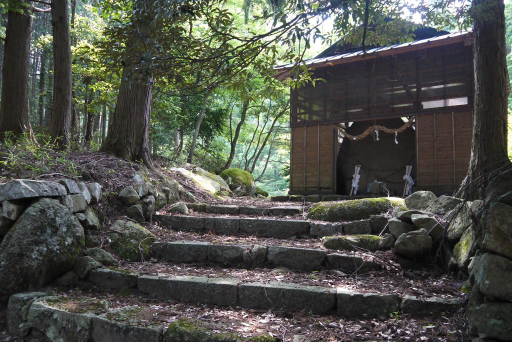 朝日神社の写真素材