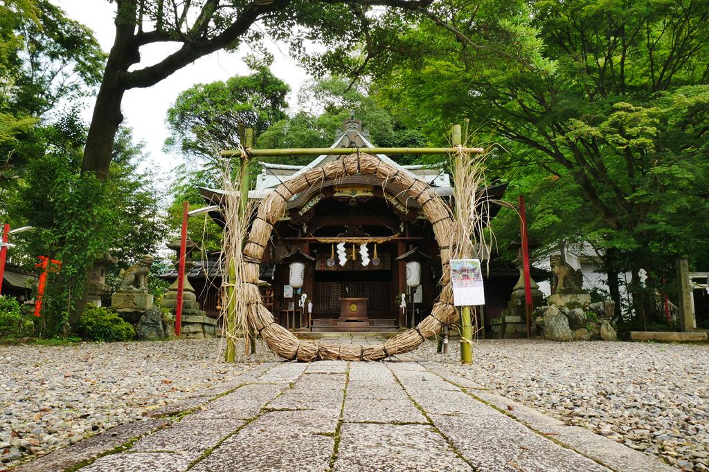 粟田神社の写真素材