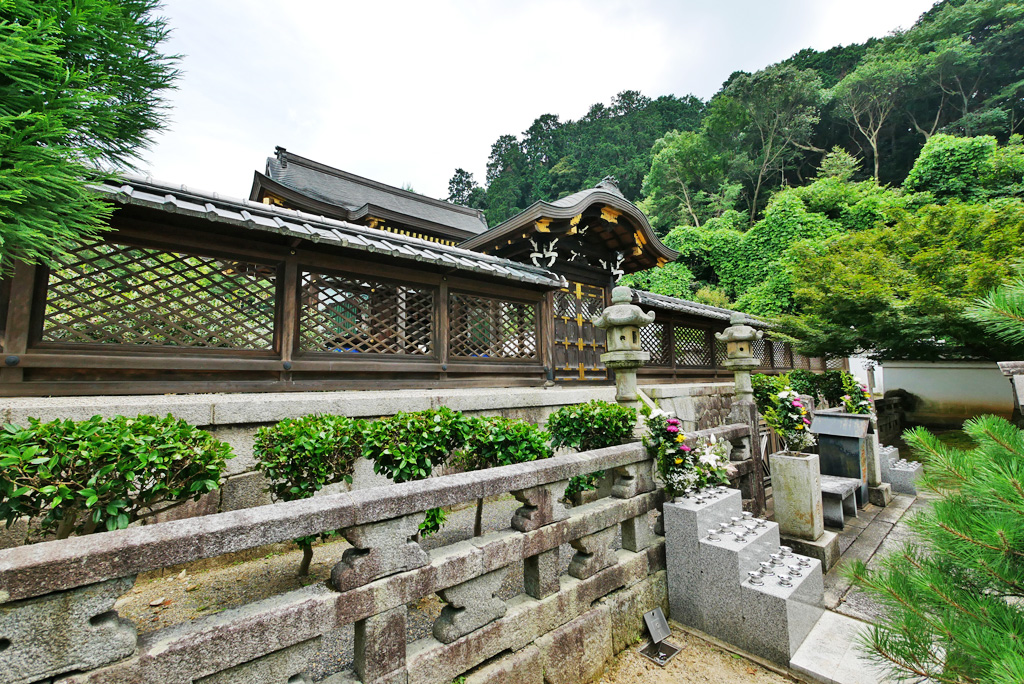 佛光寺本廟の写真素材
