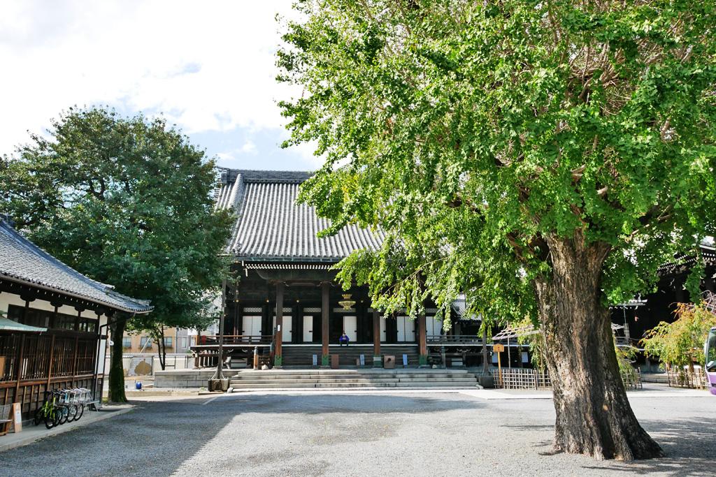 仏光寺の写真素材