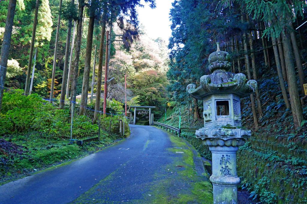 茶宗明神社の写真素材