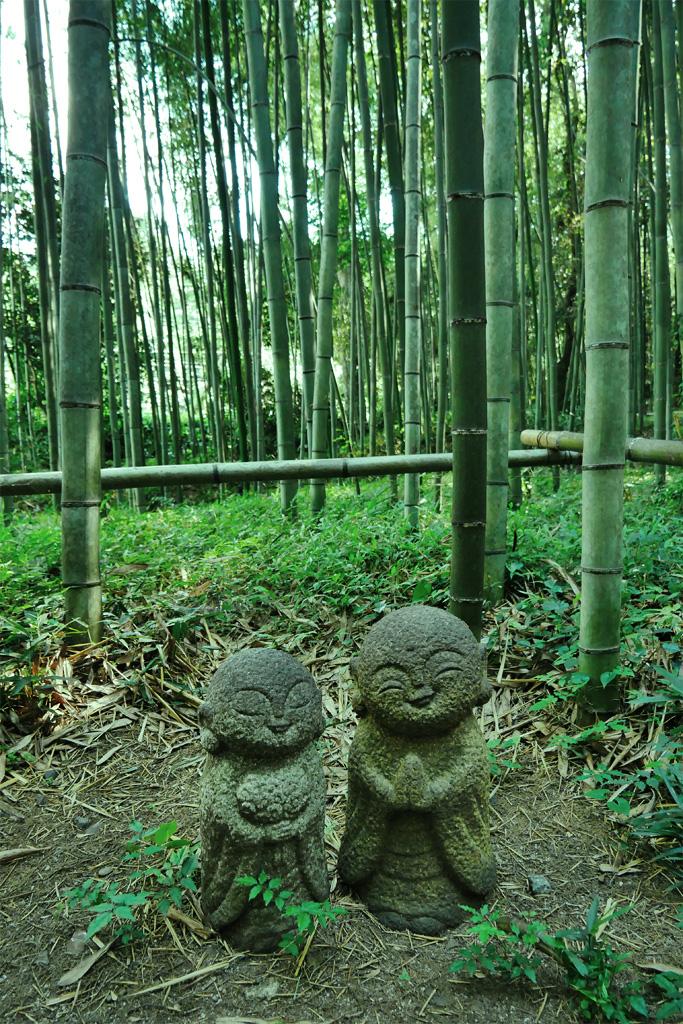 嵯峨野 竹林の道の写真素材