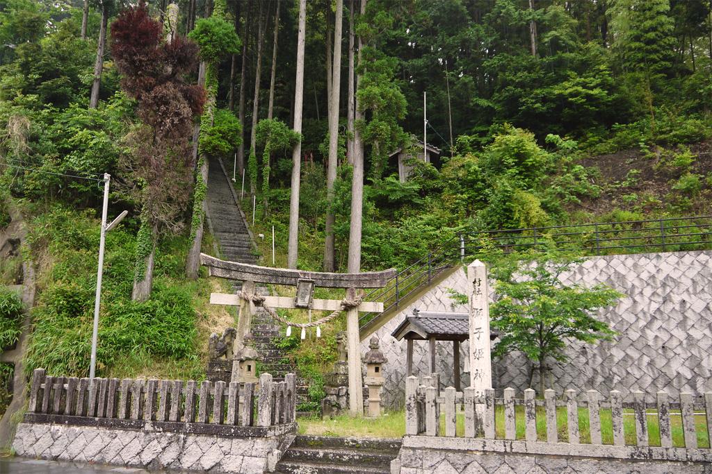 獅子姫神社の写真素材