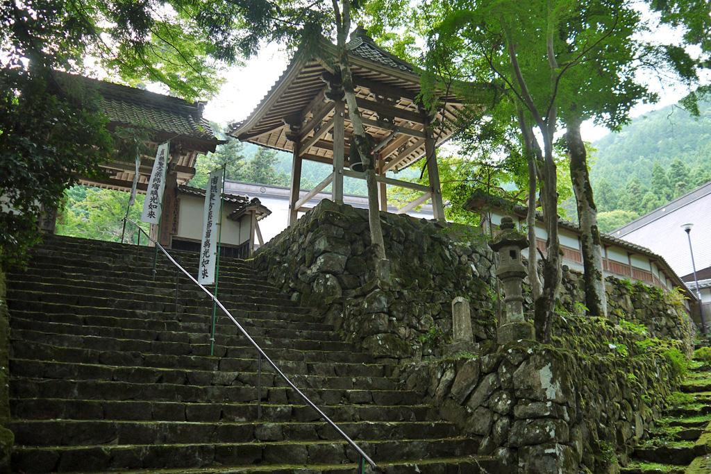 福知山長安寺の写真素材