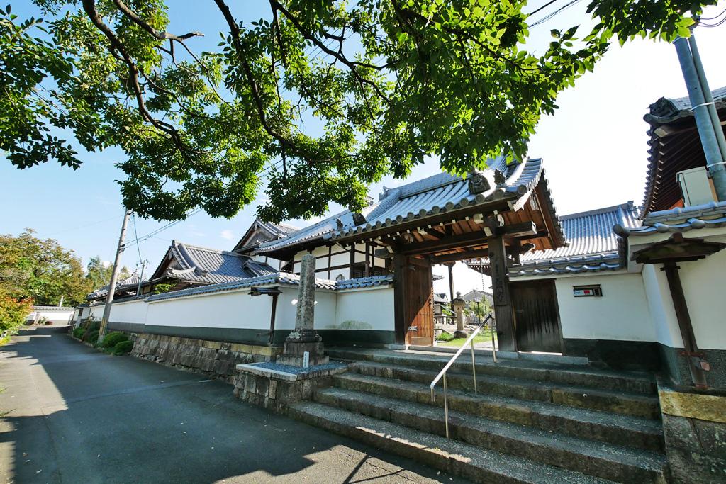 長円寺(淀)の写真素材