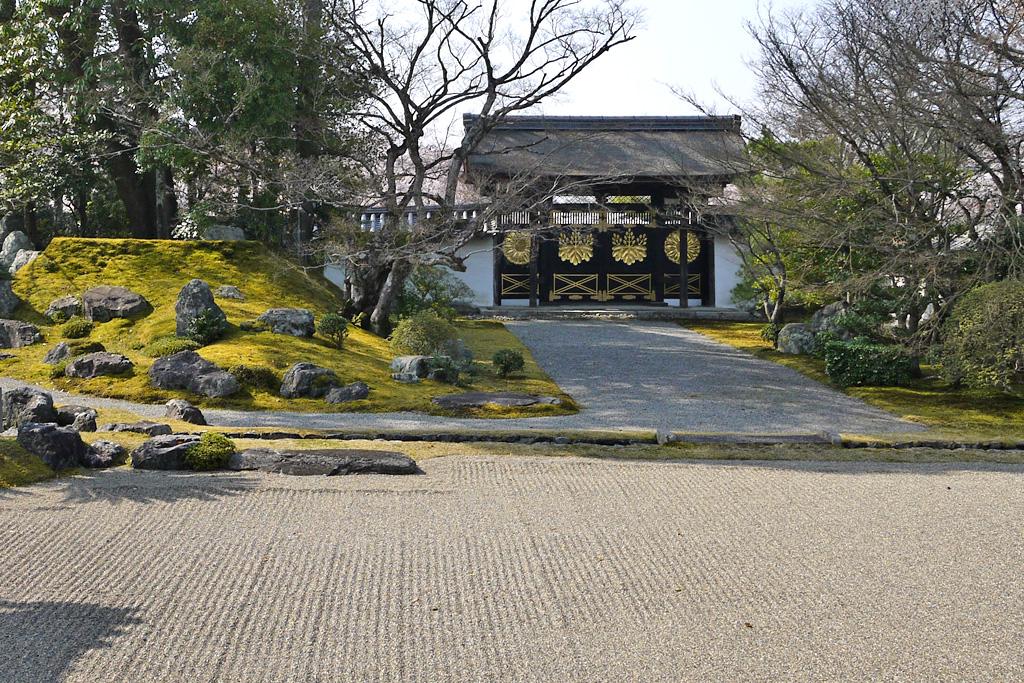 醍醐寺唐門の写真素材