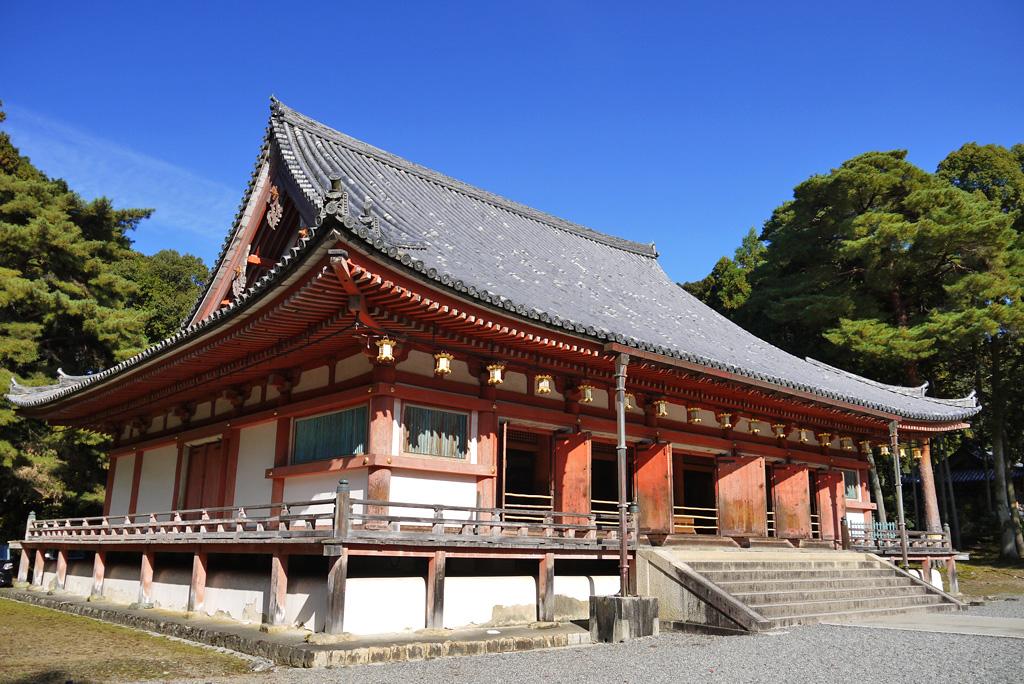 醍醐寺金堂の写真素材