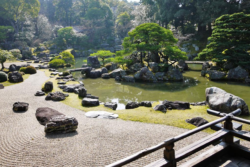 醍醐三宝院の写真素材