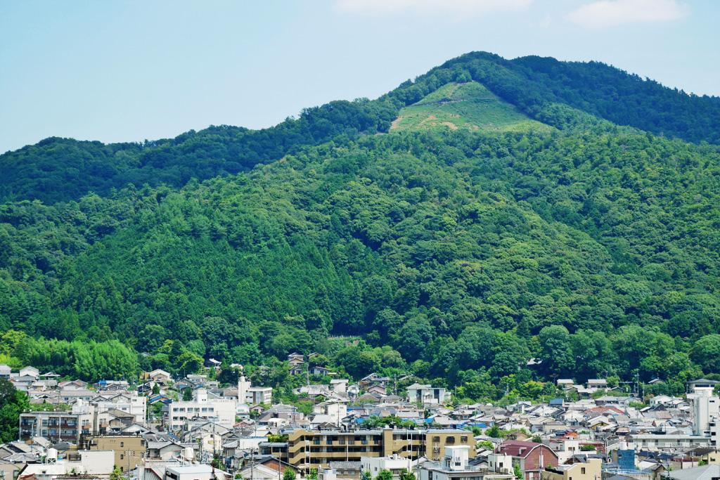 大文字山の写真素材