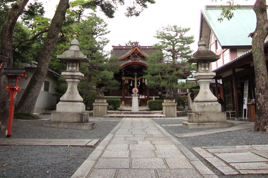 大将軍八神社の写真素材