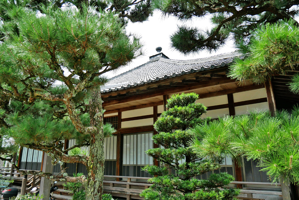 道入寺の写真素材