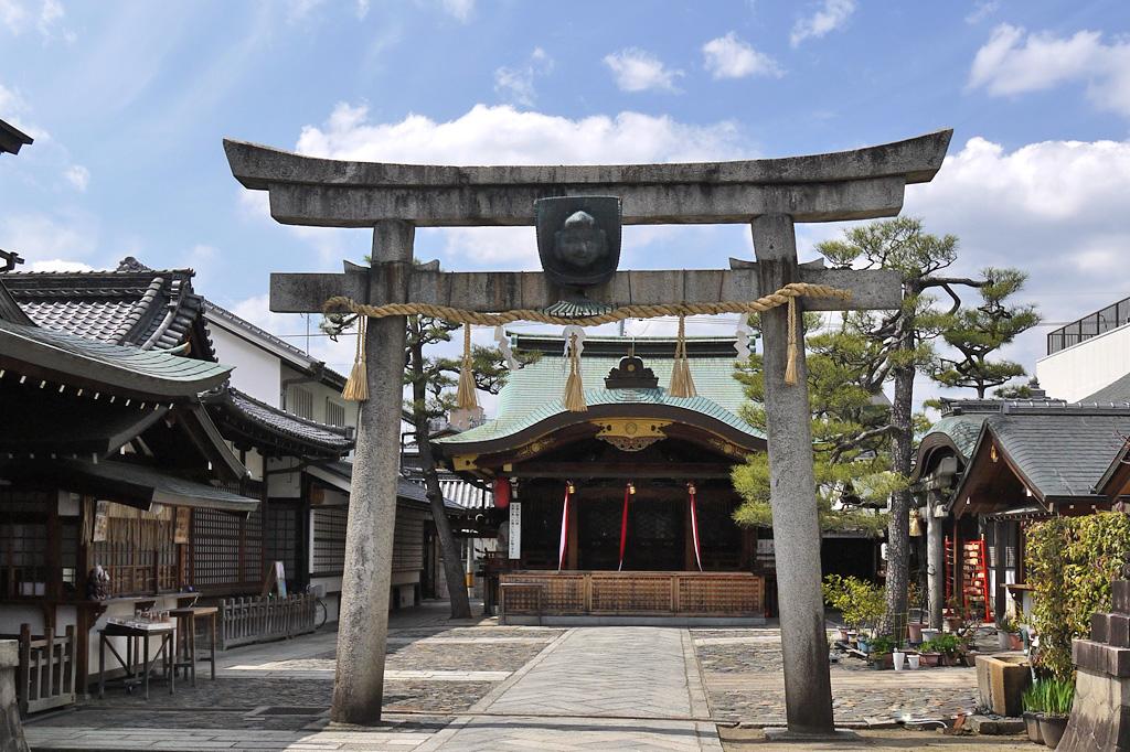 恵美須神社の写真素材