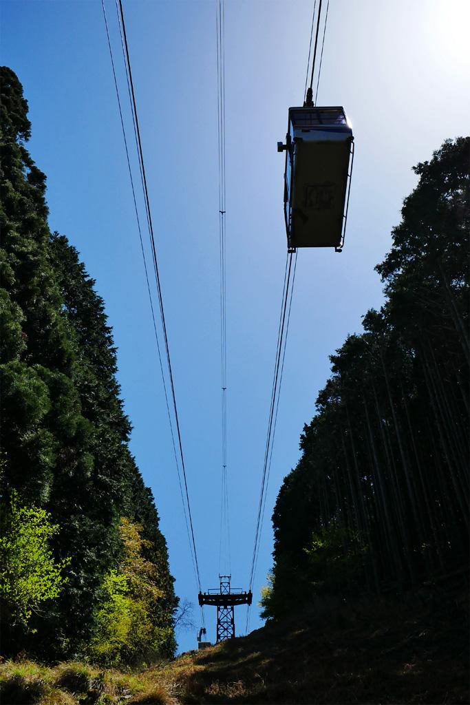 叡山ロープウェイの写真素材