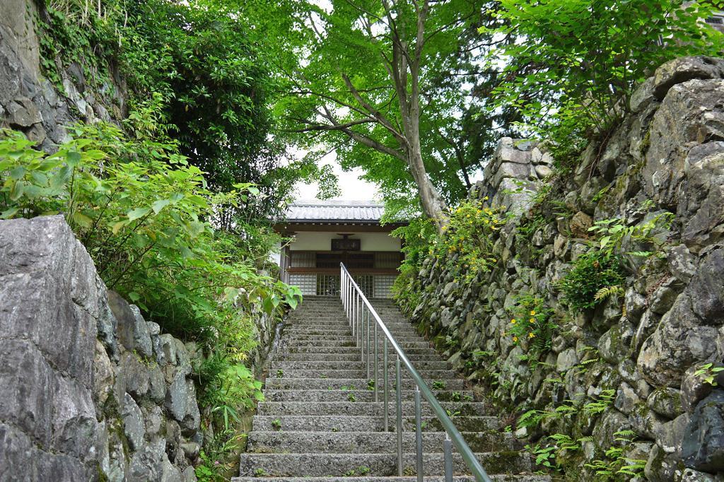 補陀洛寺(小町寺)の写真素材
