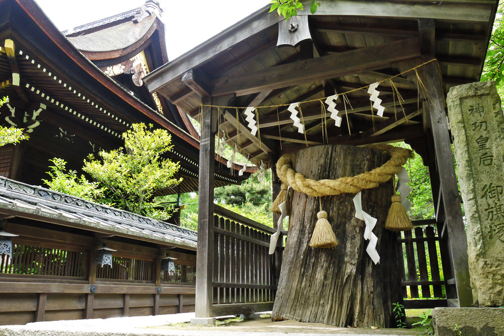 藤森神社の写真素材