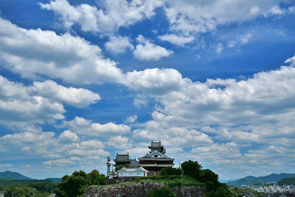 福知山城の写真素材