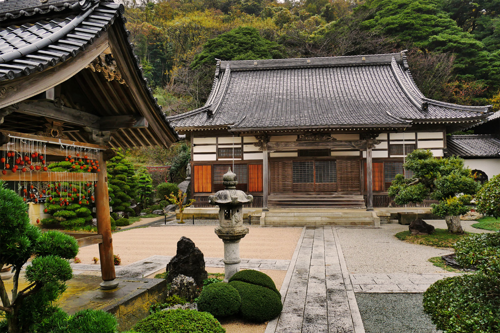 福寿院の写真素材