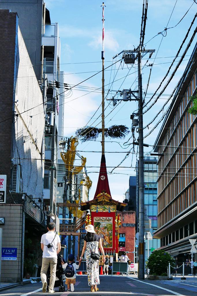 京都 祇園祭 鶏鉾の写真素材