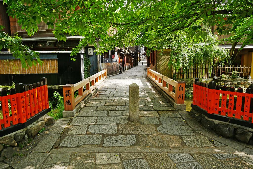 祇園白川の写真素材