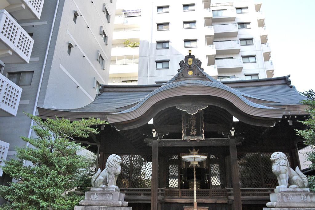 五條天神社の写真素材