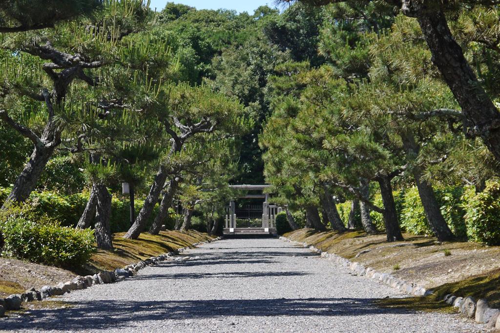 醍醐天皇陵の写真素材