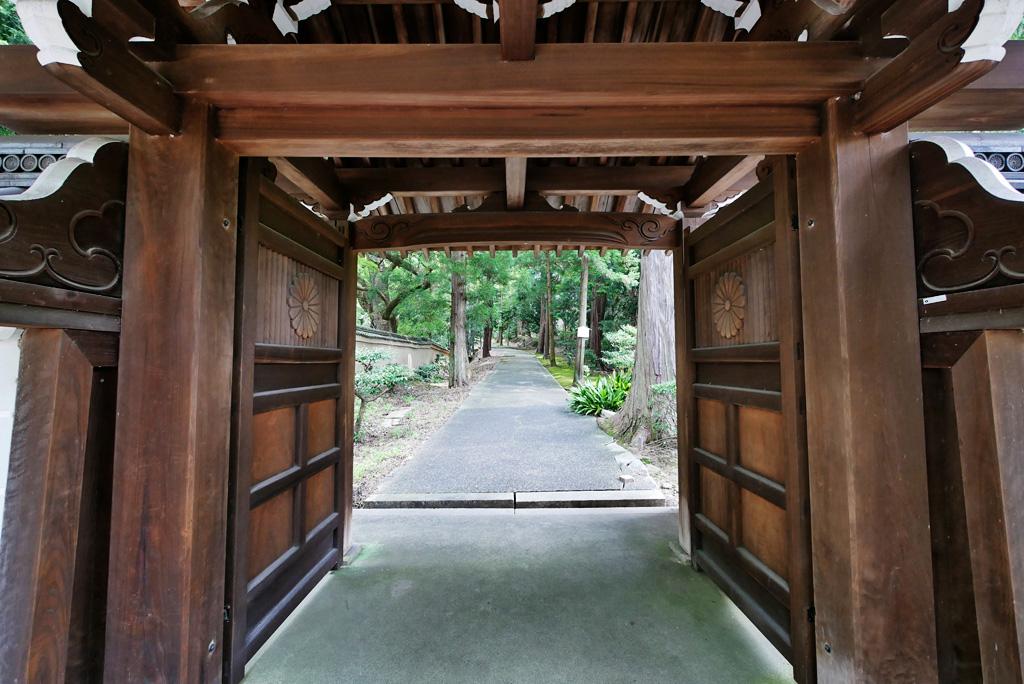 花園天皇陵の写真素材