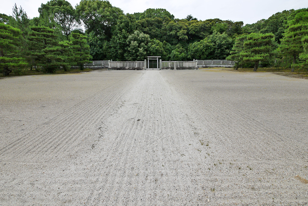桓武天皇陵の写真素材