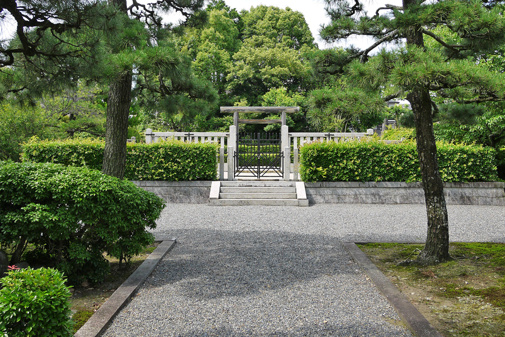 花山天皇陵の写真素材
