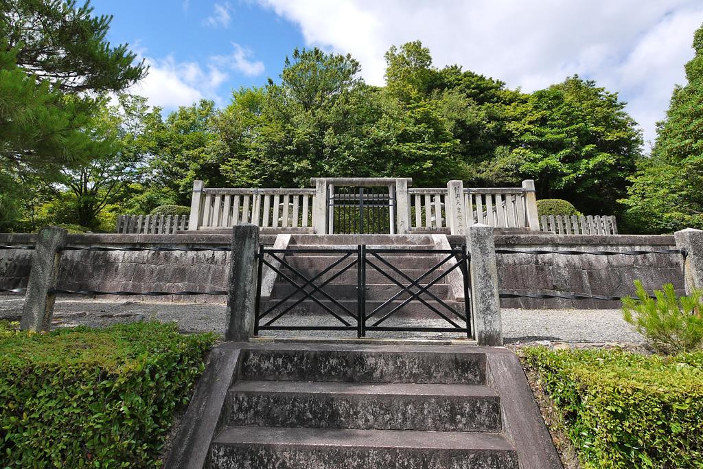 村上天皇陵の写真素材