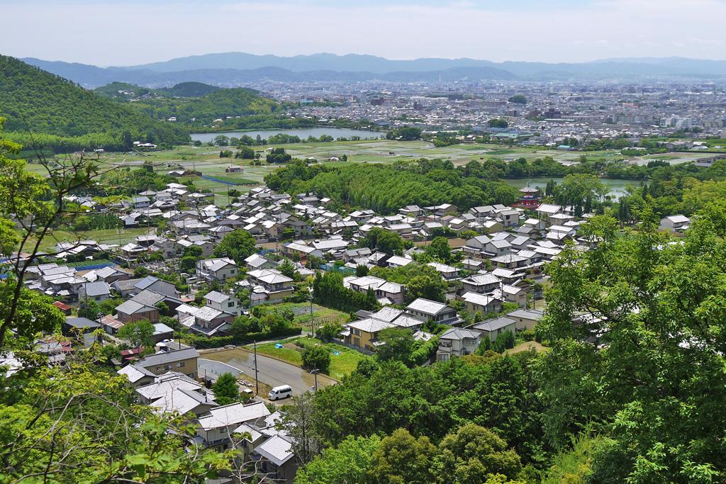 嵯峨天皇陵の写真素材