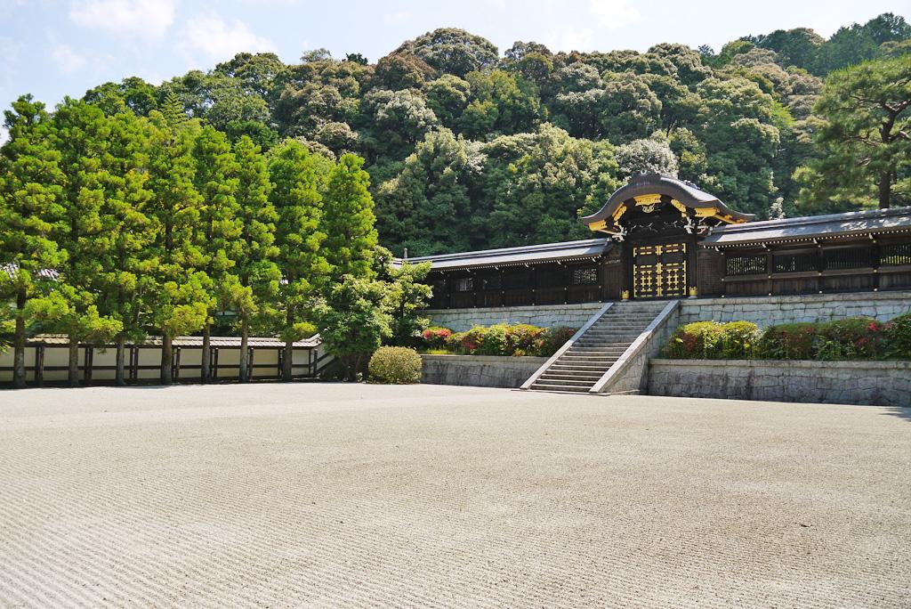 天皇陵 泉涌寺の写真素材