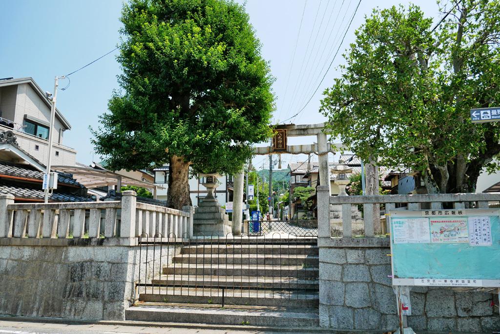 八大神社の写真素材