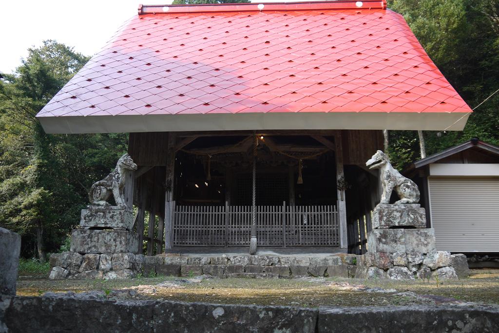 八幡神社(三和町)の写真素材