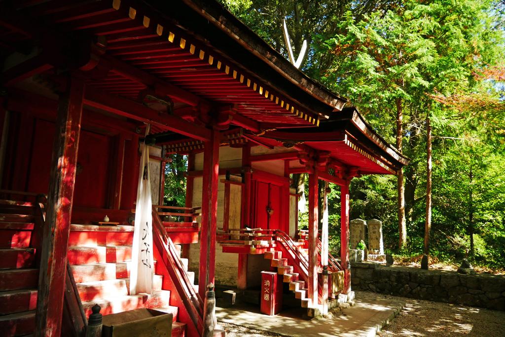 白山神社(岩船寺)の写真素材