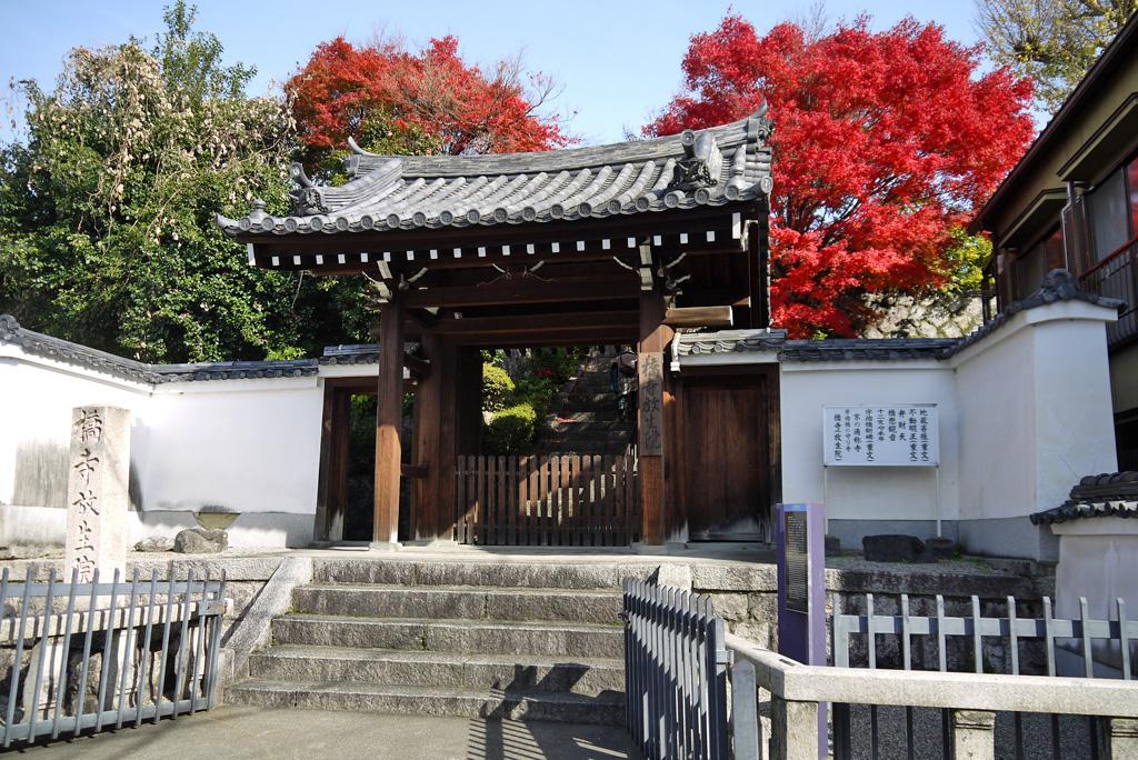 橋寺(放生院)の写真素材