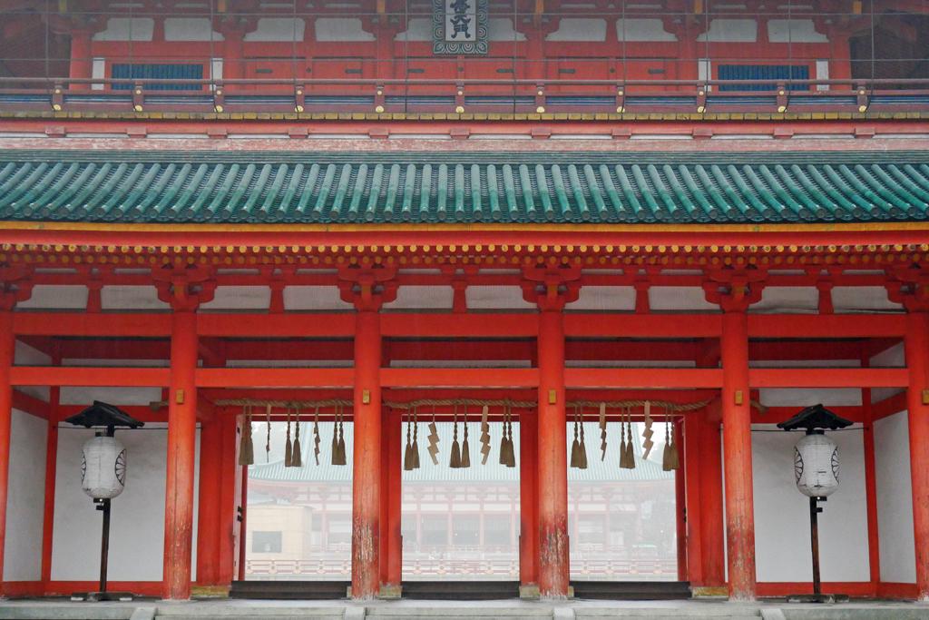 平安神宮の写真素材