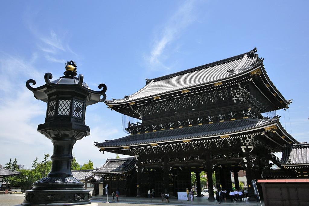 東本願寺の写真素材