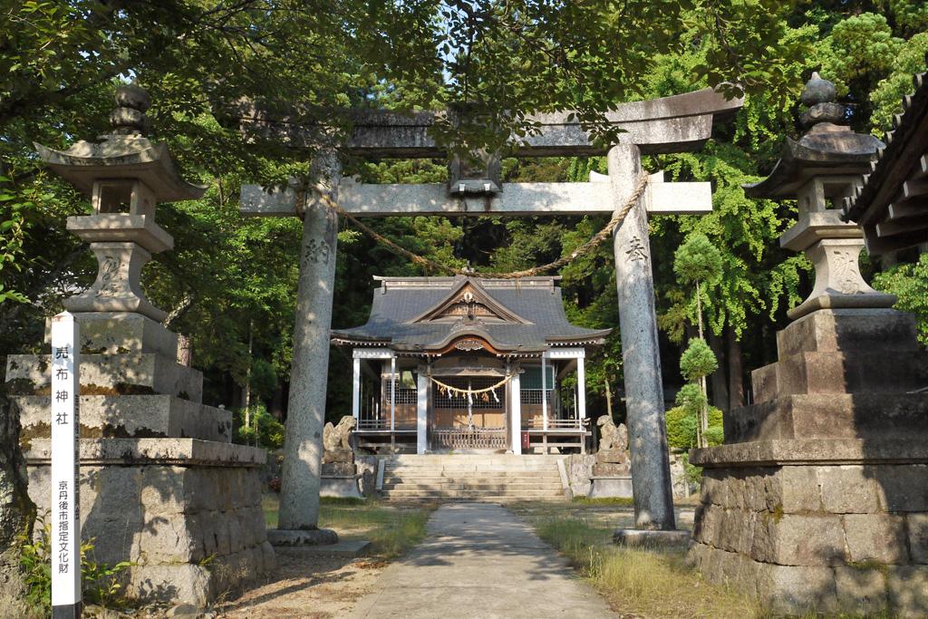 賣布神社の写真素材