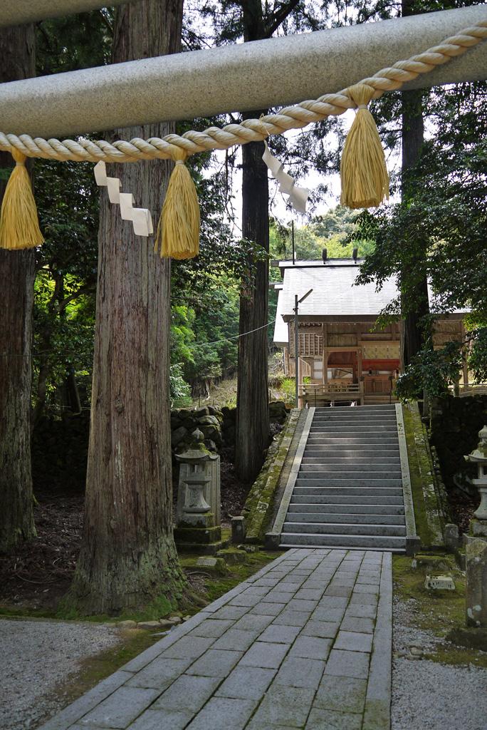 比沼麻奈為神社の写真素材