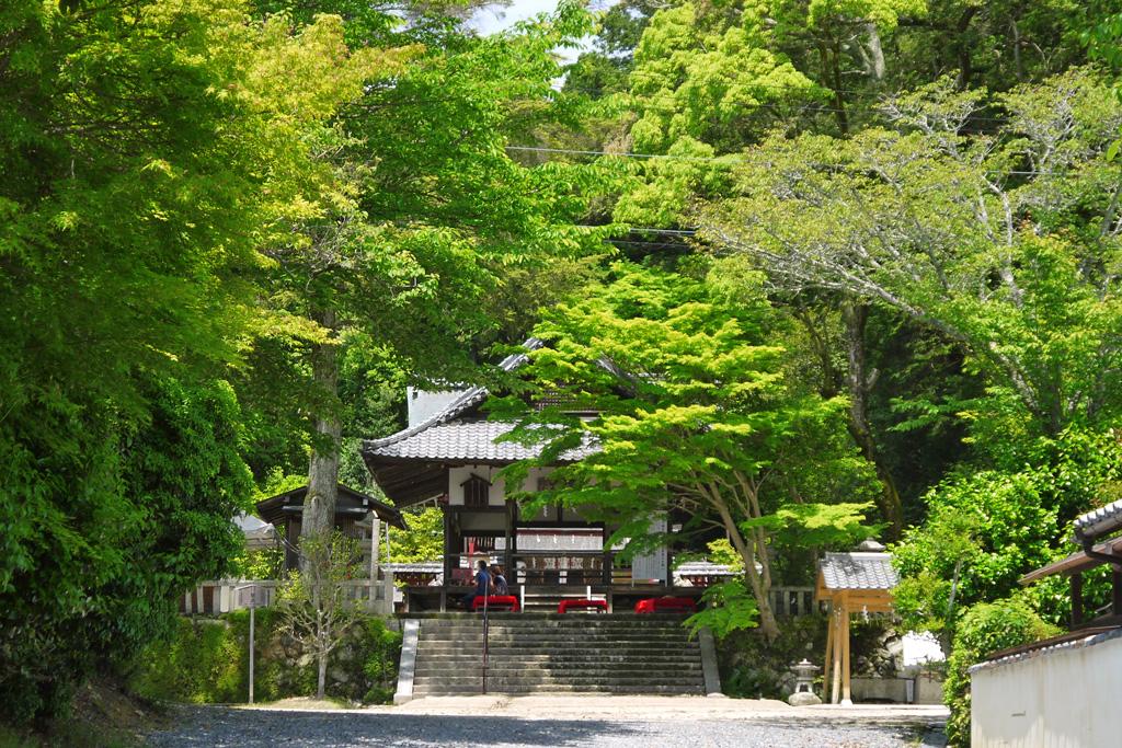 平岡八幡宮の写真素材